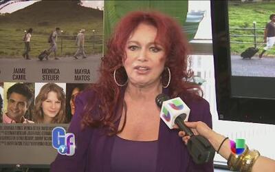 Iris Chacón está orgullosa de sus pompis naturales