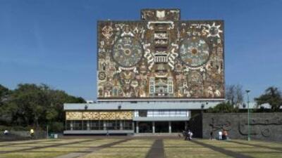 Universidad Nacional Autónoma de México, campus Ciudad Universitaria.