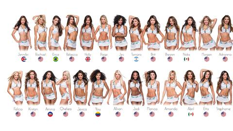 Porristas 2016 Miami Dolphins Cheerleaders by Country.jpg