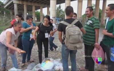 Falsos migrantes estafan a centroamericanos