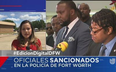 Oficiales suspendidos aseguran ser víctimas de discriminación racial