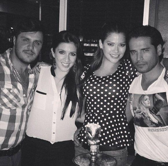 """Great night. Friends & Love"", compartió Ana Patric..."