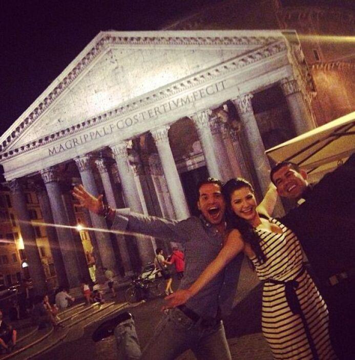 """""""Gran noche en Roma, una deliciosa cena acompañada de una gran plática d..."""