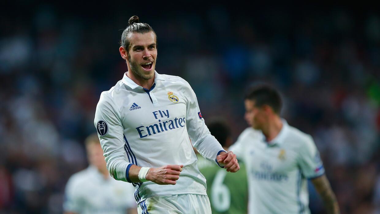 Gareth Bale abrió el marcador con un zurdazo al minuto 15.