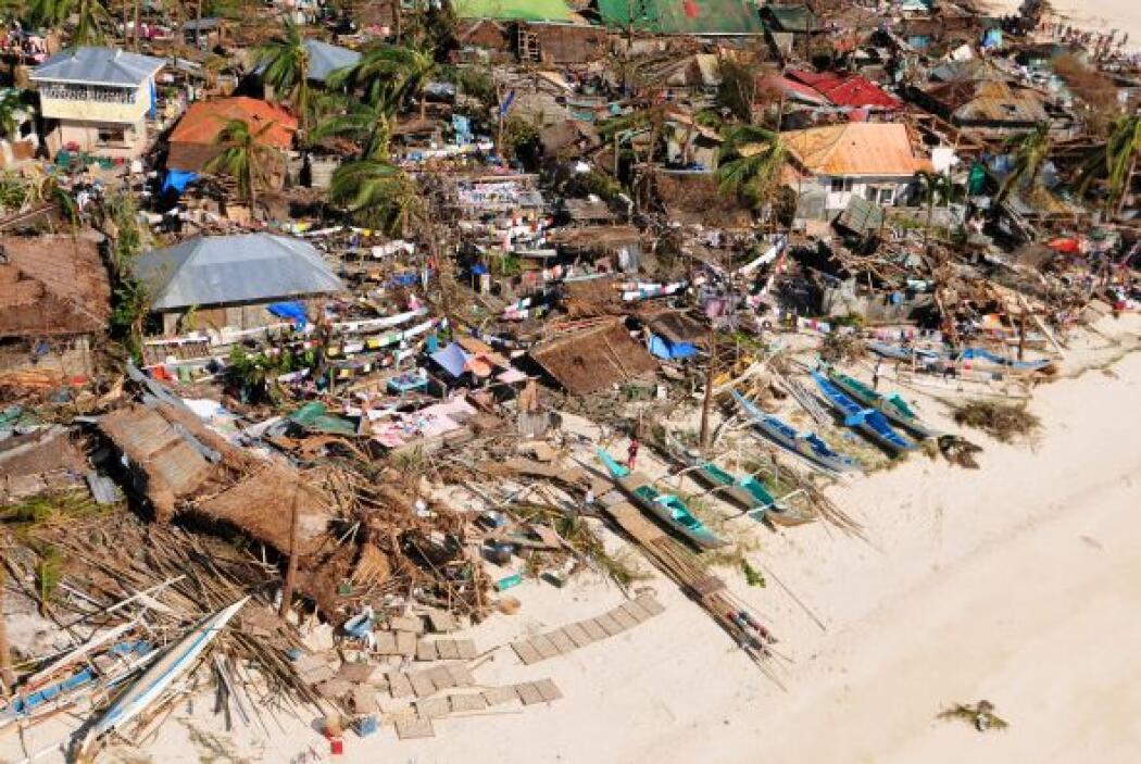 """""""La devastación es total. Si has estado en Tacloban antes, ni podrías re..."""