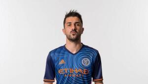 David Villa en su segundo año con el NYCFC.