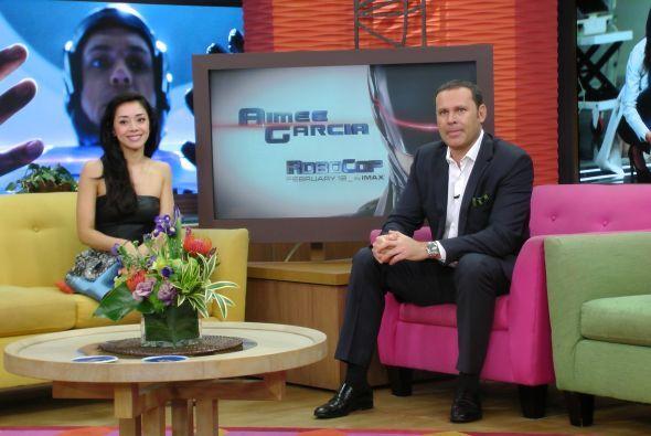 La actriz de padres mexicanos y puertorriqueños es parte del elenco de l...