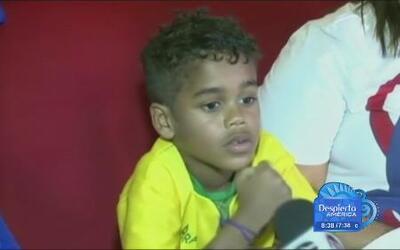 Niño brasilero tiene el nombre más largo inspirado en el fútbol