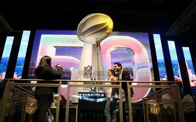 La fiesta ya empezó en San Francisco con motivo del Super Bowl 50...