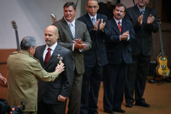 Washington también puso en libertad a los cinco espías cubanos, que fuer...