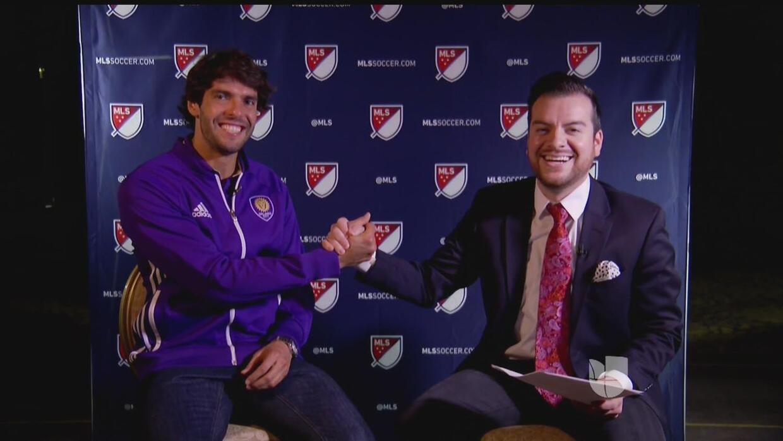 Kaká ve a Brasil como ganador de la medalla de oro