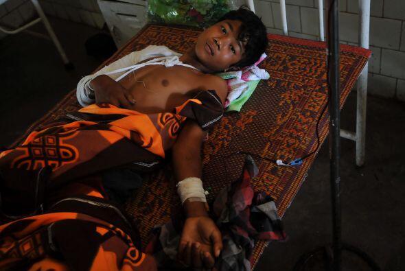El número de muertos tras los enfrentamientos entre organizaciones budis...
