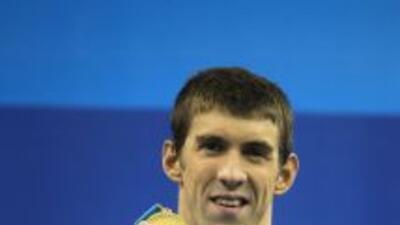 Phelps, que ganó en los 200 m mariposa el oro olímpico en 2004 y 2008, s...