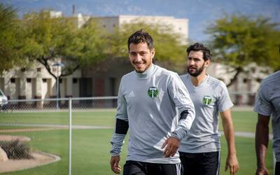 Blanco se reencuentra en Portland con Diego Valeri, su excompañer...