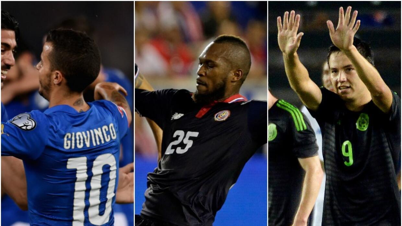 Sebastian Giovinco, Kendall Waston y Cubo Torres