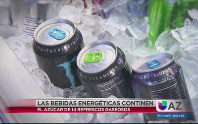 Bebidas energéticas, un peligro para jóvenes