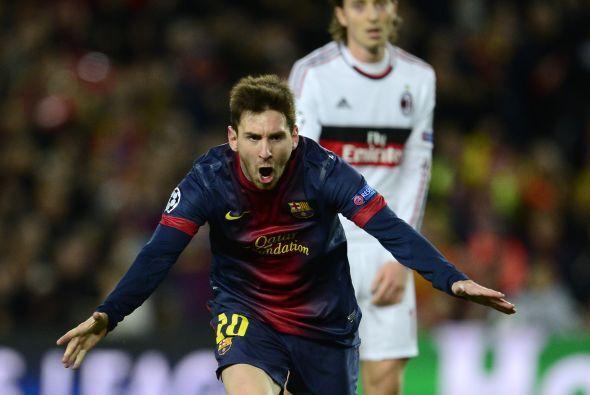 Messi lo festejo con rabia.