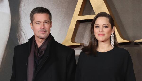 Brad Pitt y Marion Cotillard presentan 'Allied'