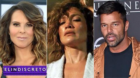 #ElIndiscreto Kate del Castillo, JLo, Ricky Martin