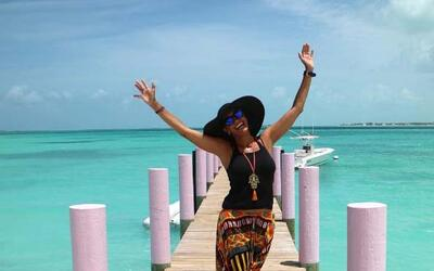 Lili Estefan en Bahamas