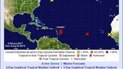 Tormenta tropical Danny