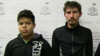 Antonio Barrón, Jerónimo Cruz y Abraham Gabriel Palacios fueron los secu...