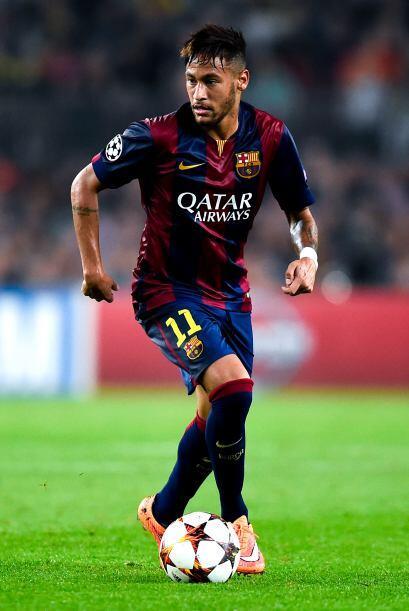 'Ney' vive su segunda temporada con el Barcelona donde ha sido recibido...