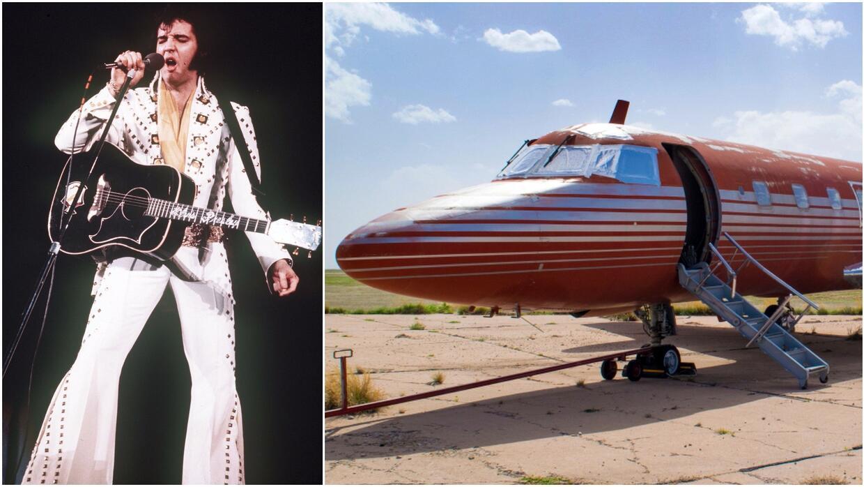 Elvis falleció en 1977 a los 42 años de edad, solo dos años después de h...