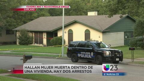 Asesinan a mujer en Garland