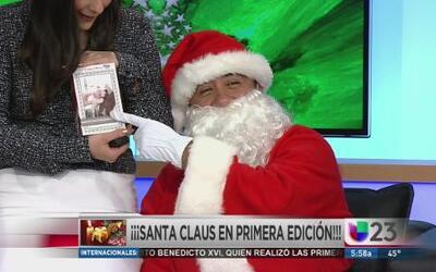 Santa trajo regalos a Karina, Milmar y Rodolfo