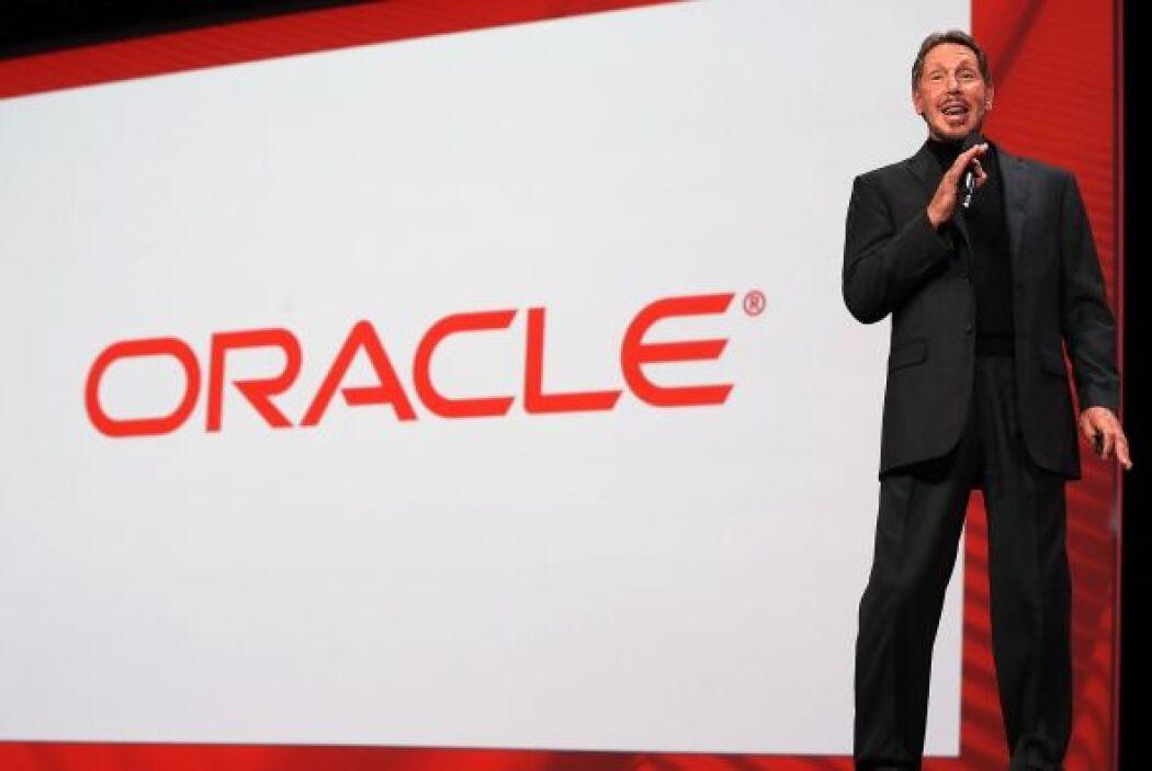 En la posición número dos está el fundador y figura principal de Oracle...