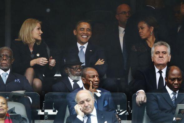 ¿Consideras que el rostro de Michelle Obama refleja molestia?