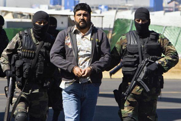 - 21 de enero de 2008: Alfredo Beltrán Leyva, 'El Mochomo', entonces ali...