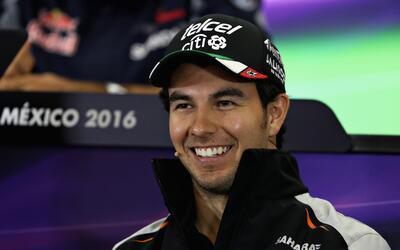 Sergio Pérez dijo que va por el triunfo en el Gran Premio de México de l...