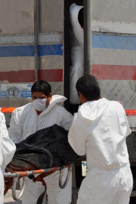 La cifra anterior era de 116 cuerpos hallados en las narcofosas, pero co...