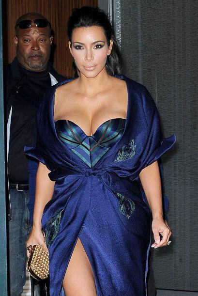 ¡La que no se cansa de enseñar 'boobs' es Kim Kardashian! Después de tan...