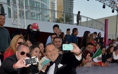 Raúl 'El Gordo' de Molina aprovechó para repartir selfies entre sus admi...