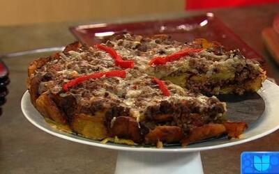 Receta de Pastelón de Carne con la chef Minerva en Despierta América