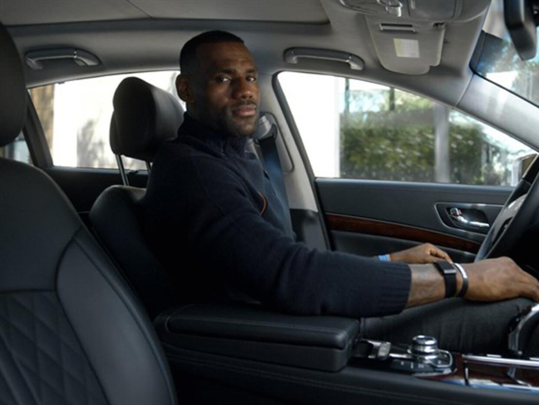 Los autos de LeBron James