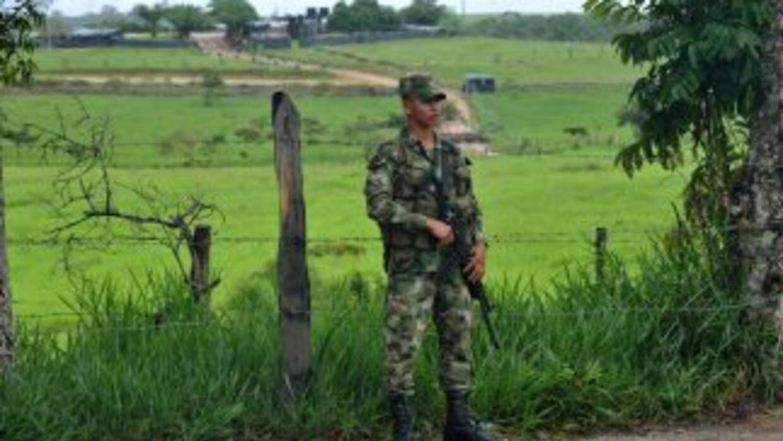La presencia del Ejército de Colombia sigue en la zona de la desaparició...