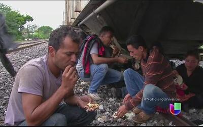Los sufrimientos de los migrantes en camino hacia el norte