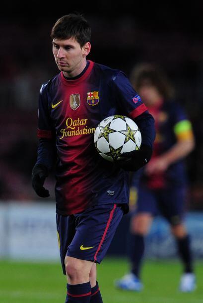 Era tiepo de que Lionel Messi entrara al campo para buscar el triunfo, a...