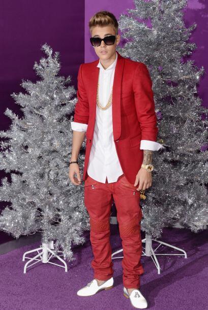 Justin Bieber es un Santa moderno
