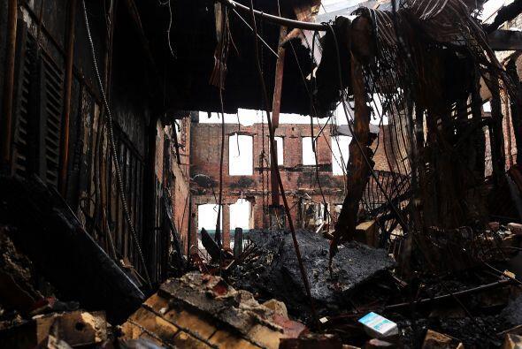 El huracán 'Sandy' dañó gran parte de los estados d...
