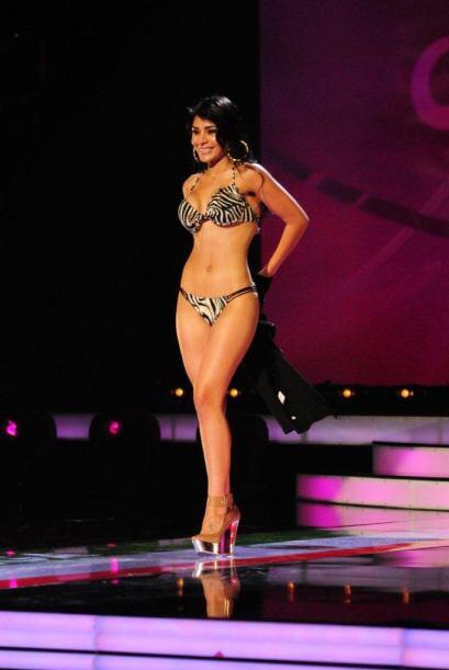 Los jueces le dieron la oportunidad a la bella mexicana de continuar a l...