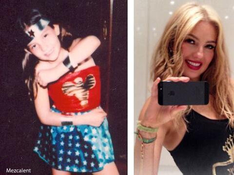 ¡Desde muy pequeña Thalía tenía muy presente...