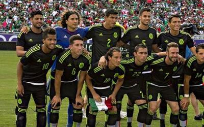 El Tri tuvo el primero de dos encuentros de preparación rumbo a Copa Oro...