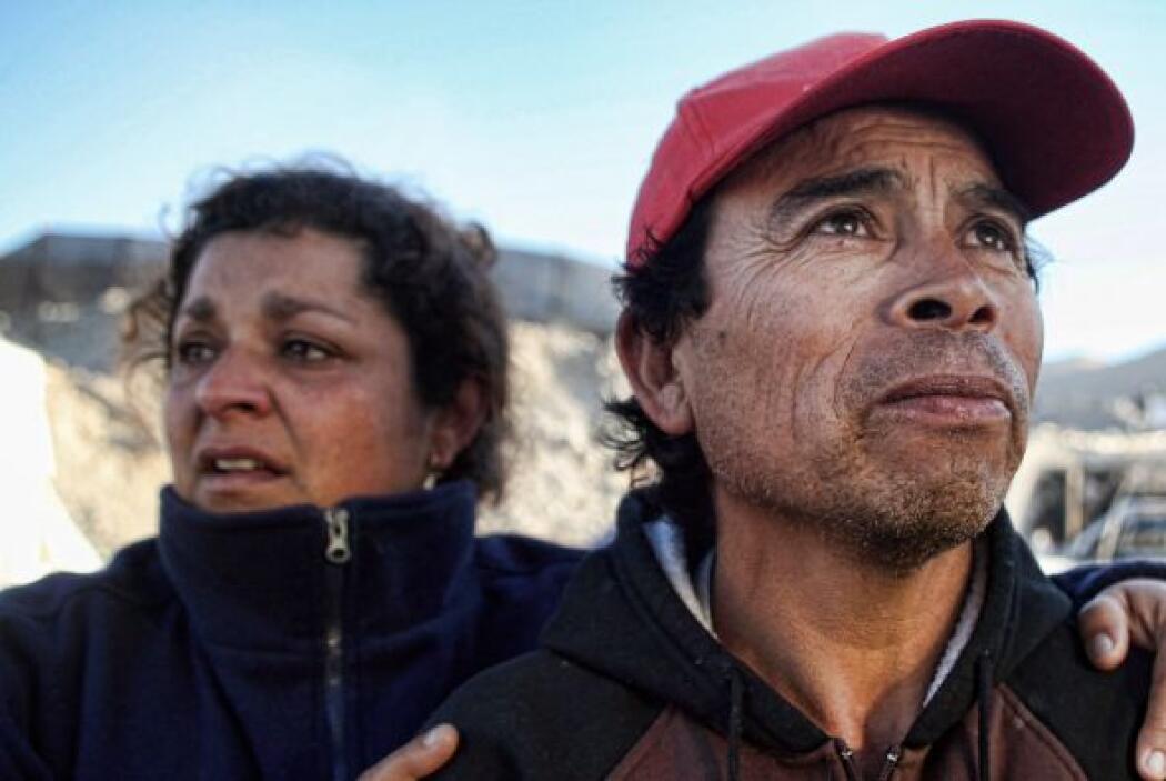 6 de agosto: El presidente chileno, Sebastián Piñera, aseguró a los fami...