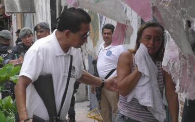 Médicos Sin Fronteras brinda atención psicológica a víctimas de violencia.