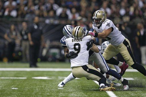 Las mejores tomas del duelo entre los Cowboys y los Saints en la Semana...
